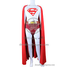 superman cosplay cark kent costume jumpsuit uniform cape red new