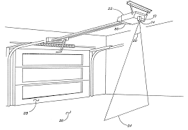 Overhead Door Safety Edge by Patent Us6218962 Parking Guide For Automatic Garage Door Openers