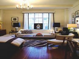 small studio apartment design ideas glass sliding door black