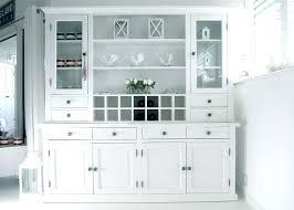 China Cabinets With Glass Doors White China Cabinet With Glass Doors Sideboards White Hutch With