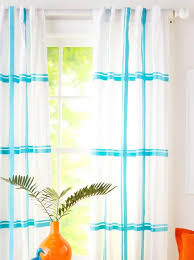 Easy No Sew Curtains Easy No Sew Ribbon Projects Midwest Living