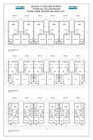 collins st town home models file no d1205116 town of collingwood