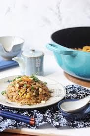 cuisine simplifi馥 生炒糯米飯 鑄鐵鍋新手不失敗 fried glutinous rice recipe 肥丁手工坊