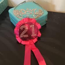 birthday girl pin s accessories 21st birthday pin and birthday girl tiara