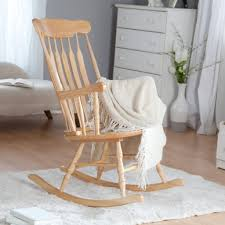 Rocking Chairs For Nurseries Furniture Oak Wood Rocking Chair For Baby Nursery Cool Baby