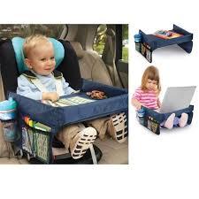 tablette de voyage pour siege auto enfants siège auto collation et jouet table de plateau de voyage