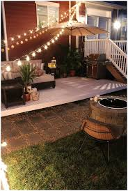 backyards cozy impressive building a patio with pavers backyard