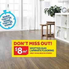 7mm spotted gum laminate flooring 8m masters ozbargain