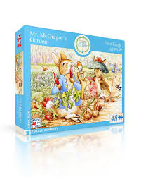 mr mcgregor s garden rabbit mr mcgregor s garden new york puzzle company