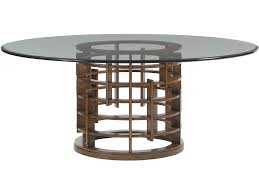 tommy bahama dining room furniture tommy bahama home dining room meridien round dining table base 556