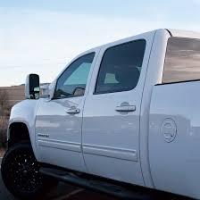silverado sierra billet locking fuel doors summit white paint