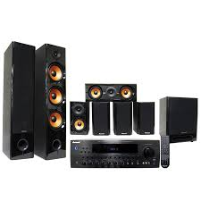 home theater surround speakers hkr 710 340 watt 7 1 surround sound karaoke amplifier