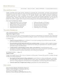 Sample Resume For Teacher Job by 100 Sample Resume For Teachers Without Experience Doc Cover Note