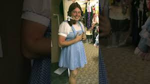 halloween store orlando boy dressed as dorothy at scary perry u0027s halloween store youtube