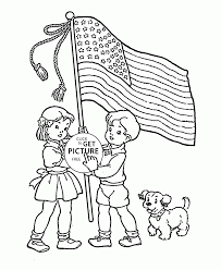 american flag coloring page for kids coloring pages printables