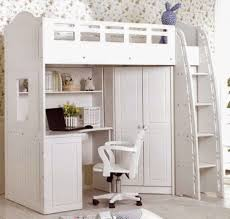 Bedroom Immaculate Old Century Bunk Bed Desk Combo For - White bunk bed with desk