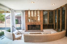 10000 square foot house plans well preserved 1970s encino house with conversation pit seeks 875