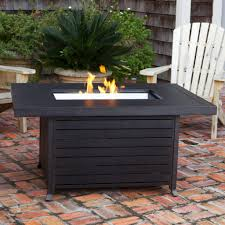 Fire Sense Propane Patio Heater by Fire Sense 61898 Propane Fire Pit Patio Table Extruded Aluminum