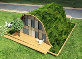 eco house relaxing hill shaped french eco house by patrick nadeau