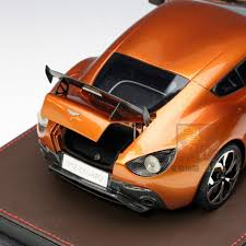 orange aston martin frontiart 1 18 aston martin v12 zagato orange resin model car