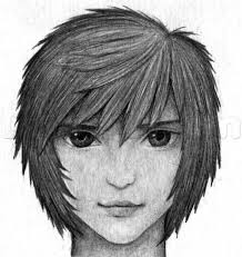 how to draw anime hair in pencil step by step anime heads anime