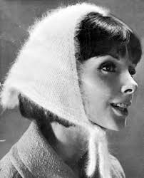 knitting pattern for angora scarf musings from marilyn fab vintage 60s angora head scarf knitting
