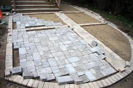 How To Install Pavers For A Patio How To Install A Paver Patio Awesome Patio Install Patio Pavers