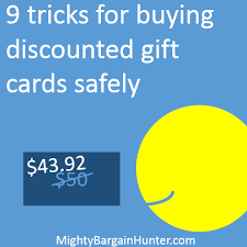 buy discount gift cards nine tricks for buying discounted gift cards safely mighty