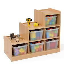storage unit with wicker baskets buy wooden tiered tray storage unit tts