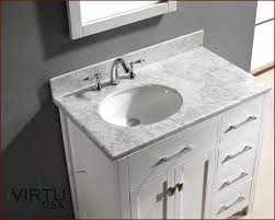 Round Bathroom Vanity - 36 inch single sink bathroom vanity