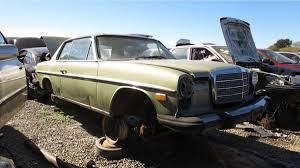 mercedes california junkyard treasure 1975 mercedes 280c coupe autoweek