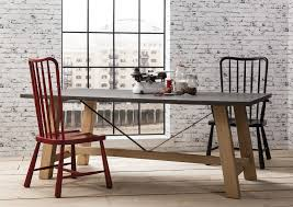 the gothenburg oak u0026 concrete dining table u2013 shropshire design