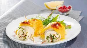 comment cuisiner du carrelet recette roulé de carrelet au fromage frais cuisiner carrelet