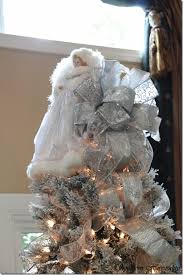 merry a white and silver tree southern