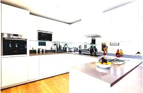 White Galley Kitchen Kitchen White Galley Kitchen With Black Appliances Powder Room