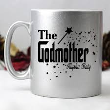 godmother mugs godparent gifts personalised godmother godfather gifts