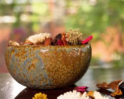potpourri ceramic potpourri bowl kopái paar indian craft store