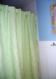 quilted shower curtain