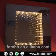 bathroom infinity mirror ip44 magic bathroom led infinity mirror for home decoration buy