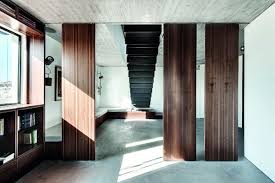 Hanging Stairs Design Duplex Penthouse With Creative Room Dividers And Hanging Staircase