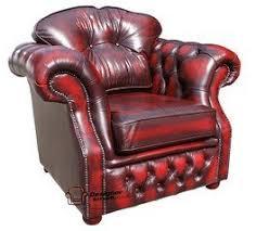 High Back Leather Armchair Chesterfield Era High Back Leather Armchair Antique Oxblood