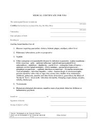 9 best images of visa medical certificate template medical