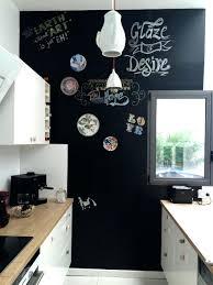 tableau noir cuisine peinture tableau noir ardoise cuisine skivintage cadres et