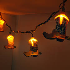 Bedroom String Lights by Cowboy Boot Decorative String Lights Decorative String Lights