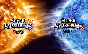 super smash bros wii u wallpapers super smash bros wii u 3ds logo wallpaper 16 by thewolfbunny on