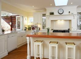 sydney popular choice of kitchen traditional with white island