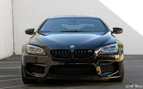m6 bmw black competition package bmw m6 gran coupe goes completely black