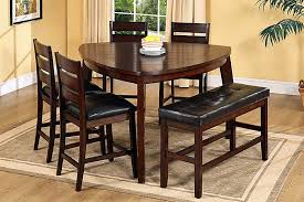 Dining Room Chairs And Benches Dining Room Table Sets With Bench