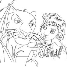 jungle book 3d movie coloring pages 3 free disney printables