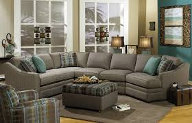 Leather Sectional Sofa Traditional Furniture Elegant Brown Leather Sectional Sofa By Craftmaster